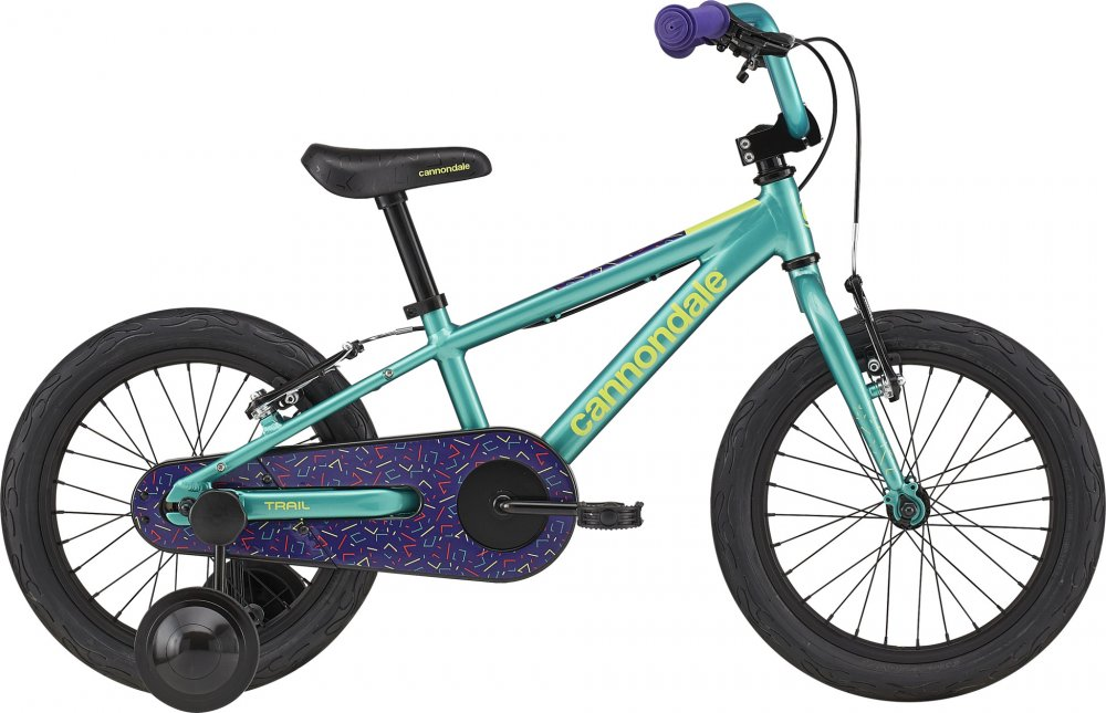 Cannondale Kids Trail Freewheel 16  OS Turqoise